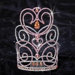 Pink Stone Char Majestic Tiara