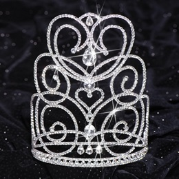Silver Char Majestic Tiara