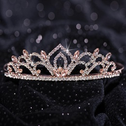 Rose Gold Kiley Tiara