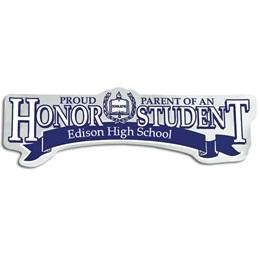 Super Service Honor Student Bumper Sticker