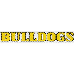 Bulldogs Fence Decorating Kit