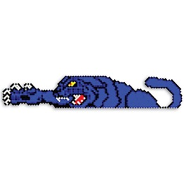 Put-in-Cups Fence Decorations - Clawing Cat
