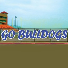 Go Bulldogs Fence Decorating Kit