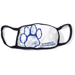 Full-color 3-Layer Face Mask - Paw
