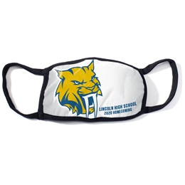 Full-color 3-Layer Face Mask - School Mascot