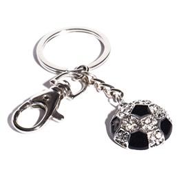 Bling Soccer Key Chain