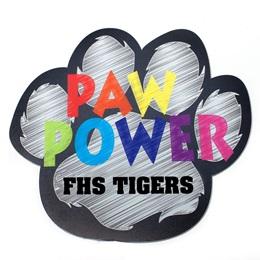 Custom Paw Magnet