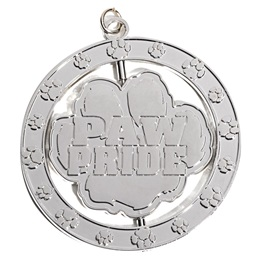 Paw Pride Spinner Medallion