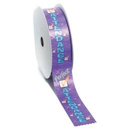 Perfect Attendance Ribbon Roll