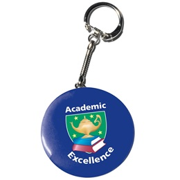 Key Tag Button - 2 1/4 in.