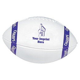 Custom Mini Football with Champs Stripes