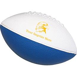 Custom Foam Mini Football - Two Colors