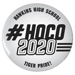 "#HOCO 2020 2 1/4"" Button"