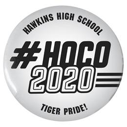 """#HOCO 2020 3"""" Button"""