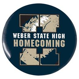 "Big H Homecoming 2 1/4"" Button"