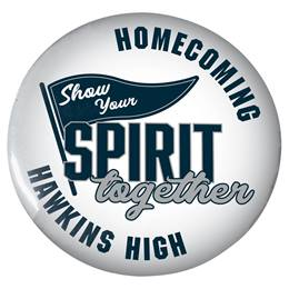 "Show Your Spirit Together 3"" Button"