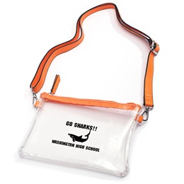 Clear Cross-body Bag