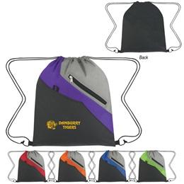 Zig Zag Color Block Backpack