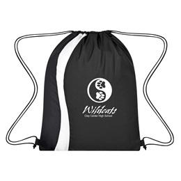 Serpentine Swirls Drawstring Backpack