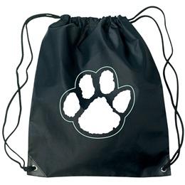 Paw Backpack - Black/White