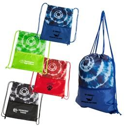 Tie-dye Top Backpack