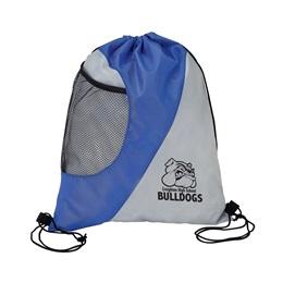 Shade of Gray Mesh Sport Bag