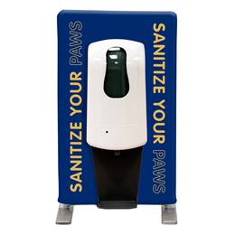 Tabletop Hand Sanitizing Station - Sanitize Your Paws