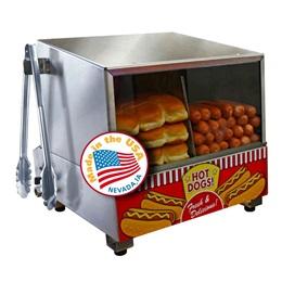 Classic Dog Hot Dog Steamer