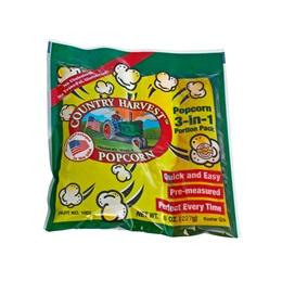 Country Harvest 6 oz Popcorn Tri-Pack - 24 packs