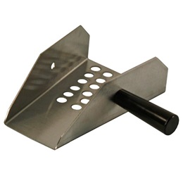 Small Stainless Steel Popcorn Scoop