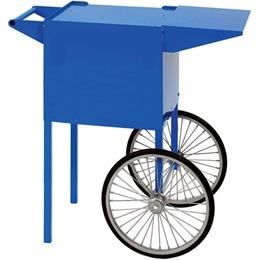 Small Blue Sno Cone Popcorn Cart