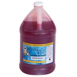 Sno Cone Syrup Tigers Blood Gallon
