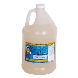 Sno Cone Syrup Pina Colada Gallon