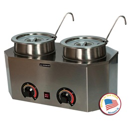 Dual Pro-Deluxe Warmer with Ladles