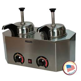 Dual ProDeluxe Warmer with Front Pumps