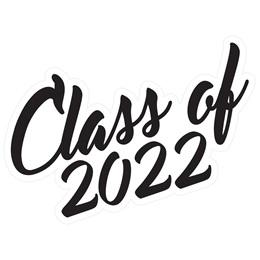 Class of 2022 Temporary Tattoos - Script Font