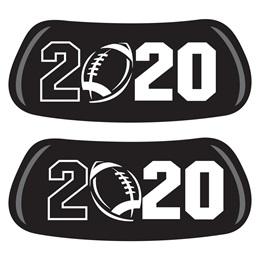 2020 Football EyeBlacks