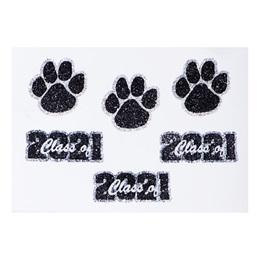 Glitter Body Decals - Class of 2021 Paw