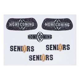 Glitter Body Decals - Seniors/Homecoming Football
