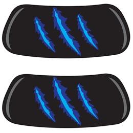 EyeBlacks - Blue Claw Marks