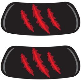 EyeBlacks - Red Claw Marks