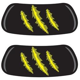 EyeBlacks - Yellow Claw Marks