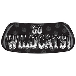 Go Wildcats Paw EyeBlacks