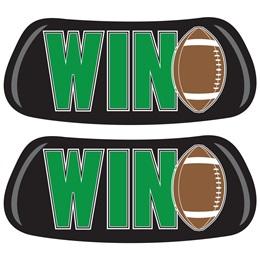 Win/Football EyeBlacks
