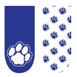 Spirit Nails - Blue and White Paws
