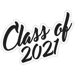 Class of 2021 Temporary Tattoos - Script Font