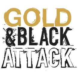 Gold & Black Attack Temporary Tattoos