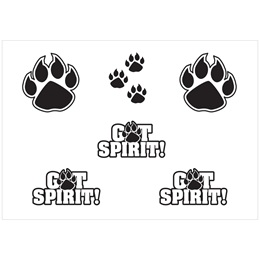 Body Decals - Black Paw/GotSpirit