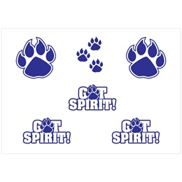 Body Decals - Blue Paw/GotSpirit