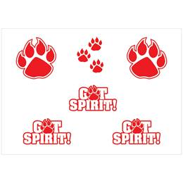 Body Decals - Red Paw/GotSpirit